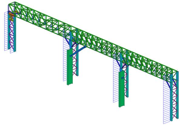 Lukhozi Consulting Engineers - Pipe Bridge - Lattice Column - Structures - Clariter