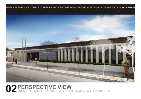 Lukhozi Consulting Engineers - Police- Police Station - SAPS - SAPS Design