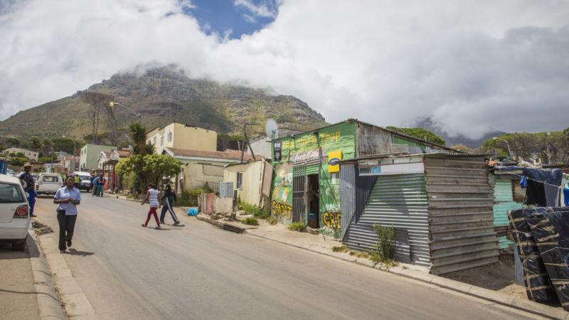 Imizamo Yethu township in Hout Bay, Western Cape