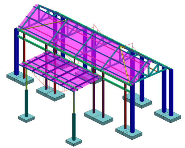 Lukhozi Consulting Engineers - Chalet - Structural Design - House - Building