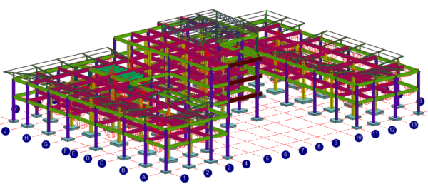 Lukhozi Consulting Engineers - Structural Design - Three Storey Office