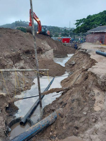 Ground Water Rising